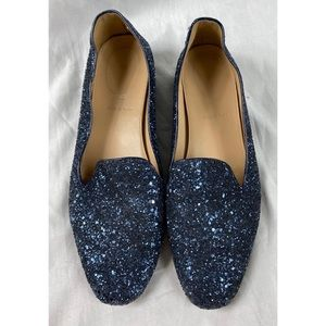 J.Crew Darby Glitter Loafers